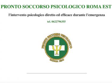 Pronto Soccorso Psicologico Roma